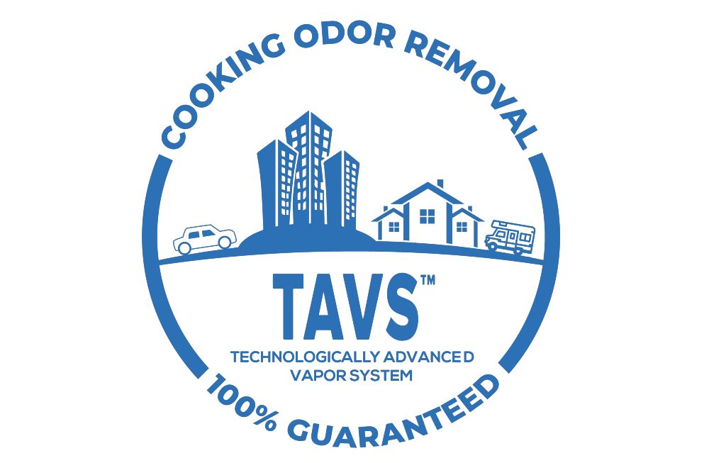 cooking odor removal